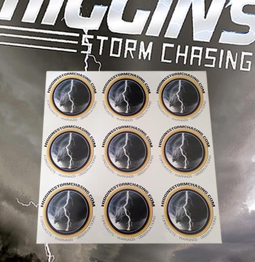 Higgins Stickers