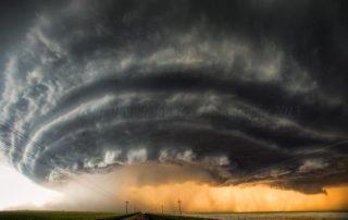 Booker, Texas Supercell by Australian Storm Chaser - Brad Hannon, back in June 2014