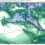 Forecast rainfall across Saturday and Sunday via Tropicaltidbits