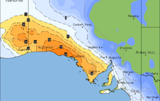 Forecast Rainfall via OCF for South Australia