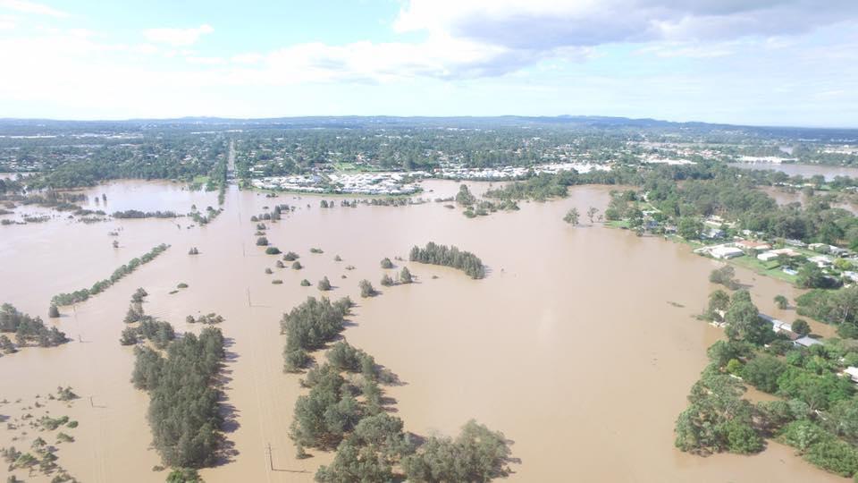 Major flooding at Logan via Andrew Rich