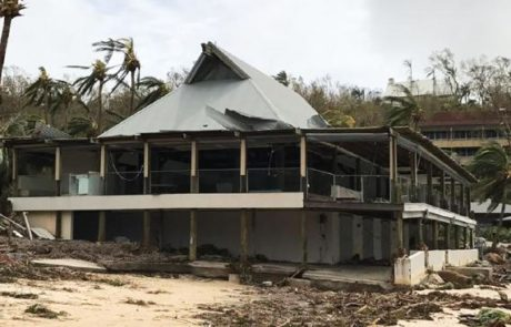 Cyclone damage on Hamilton Island via Jon Clements