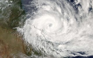 NASA Satellite image of Severe TC Debbie