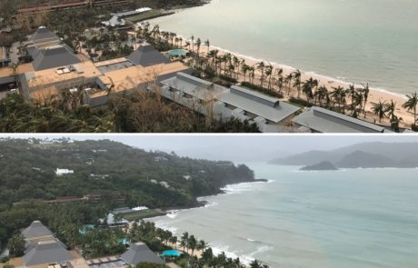 Before and After on Hamilton Island via Brett Evans