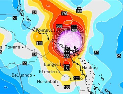 200-400mm Forecast For Townsville, Mackay & Whitsundays