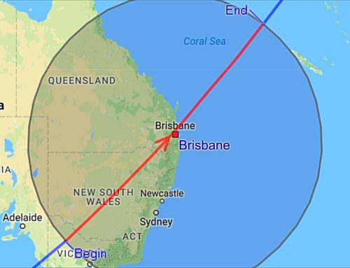 International Space Station Visible Directly Over Brisbane & SEQLD