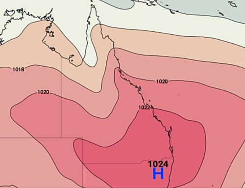 A Large High Will Dominate QLD For A Week