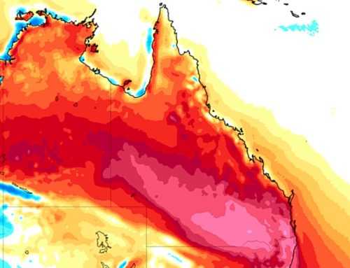 All Of Queensland About To Get Hot For A Week Straight!