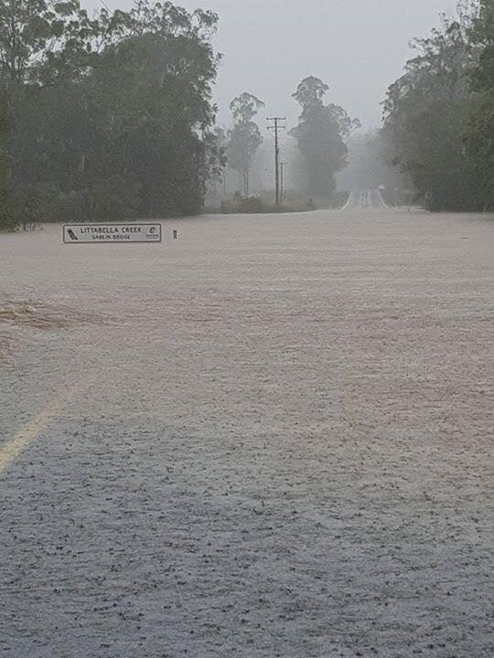 Littabella Creek Crossing, Rosedale Road North-West of Bundaberg via Maria Achurch