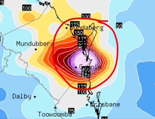 DANGEROUS Storm Potential Seventeen Seventy, Bundaberg to Sunshine Coast !