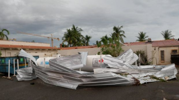 Tornado damage in Karratha from Cyclone Carlos via Sydney Morning Herald