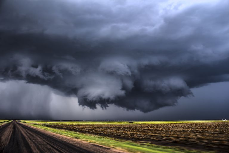 Wall cloud captured by NZP Chasers