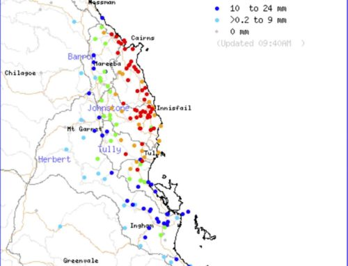 Up to 400mm in 48hrs kicks off the NQLD Wet Season