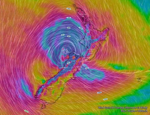 Tropical Cyclone Gita to cause Widespread Severe Weather across NZ