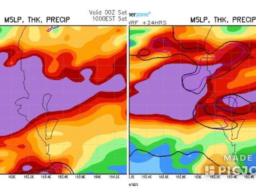 Sunshine Coast, Brisbane, Gold Coast Could Get A Deluge