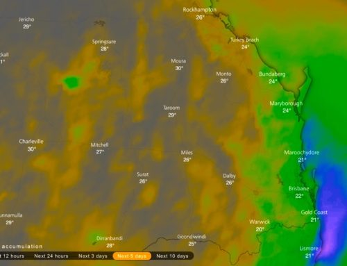 Cooler Wet Weather For SEQLD