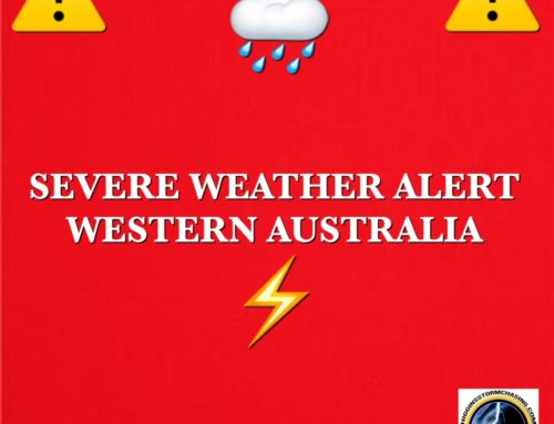 Severe Weather To Hit Western Australia