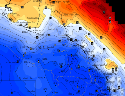 Winter cold blast & frosts returning to QLD