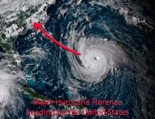 Deadly Hurricane Florence Heading For United States