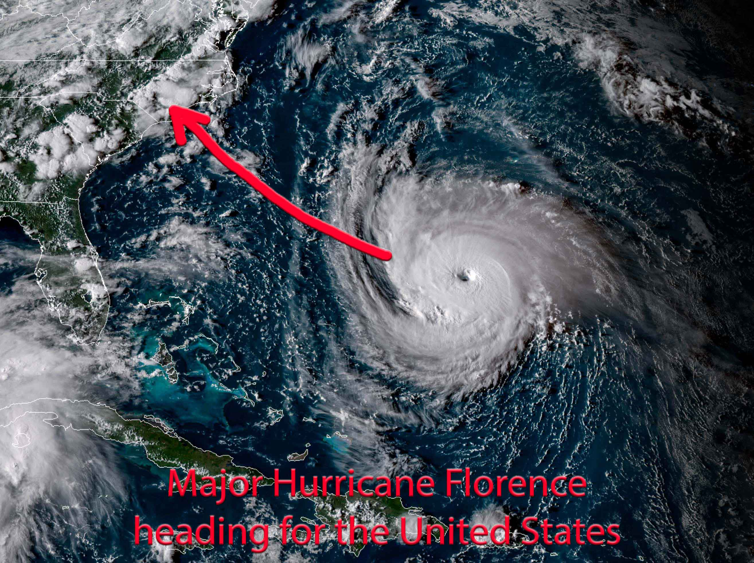 images from hurricane florence - HD 2630×1966