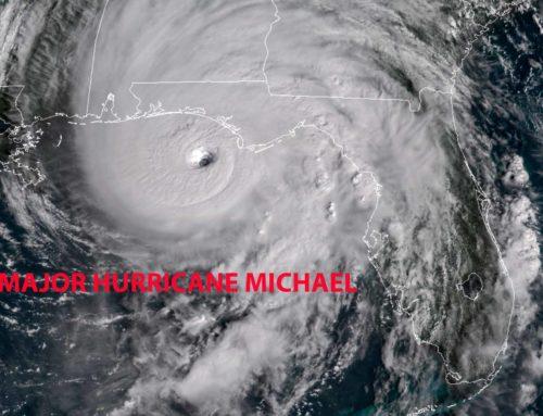Life Threatening Hurricane Michael nearing landfall!